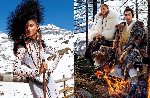 Sacred tribes of Mont Cervin by Giampaolo Sgura