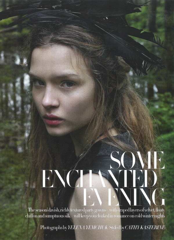 Some enchanted evening by Yelena Yemchuk