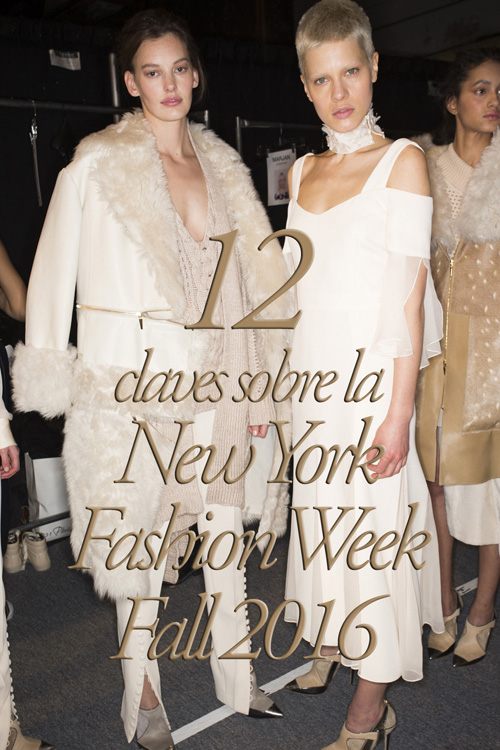 New York Fashion Week Fall 2016