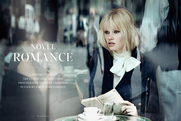 Novel romance by Peter Lindbergh