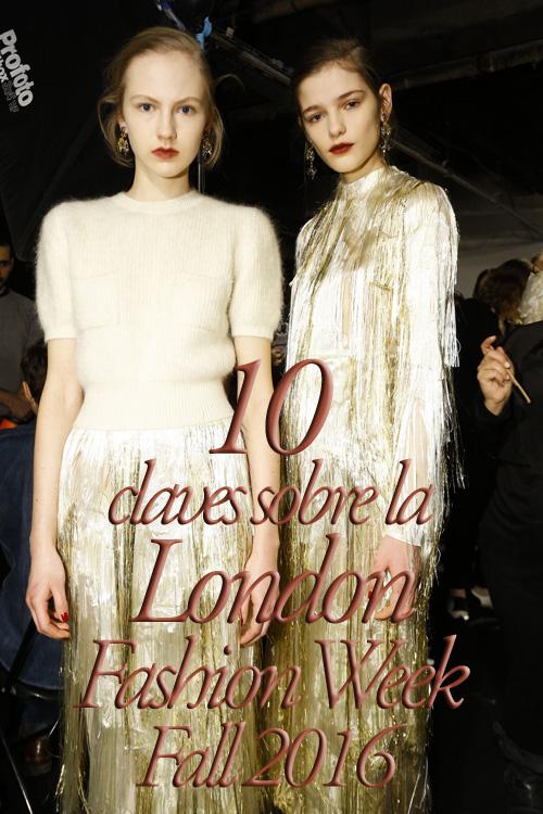 London Fashion Week Fall 2016