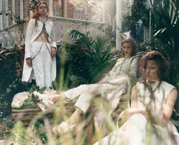 Frida Westerlund, Clarine de Jonge, Aia Busk by Martina Hoogland Ivanow for Porter Magazine