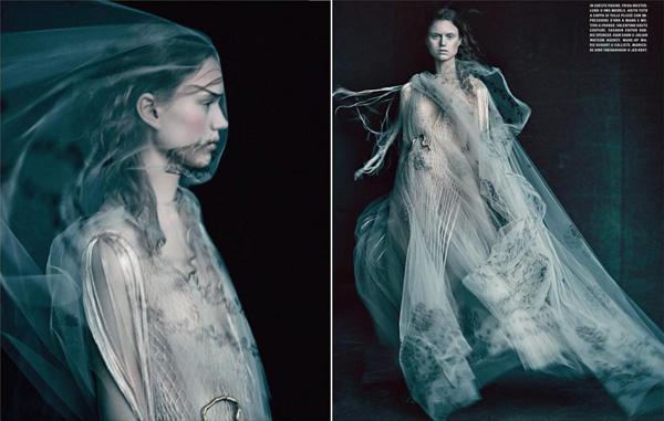 E alta moda by Paolo Roversi