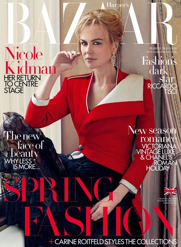 Nicole Kidman by Noman Jean Roy for Harper's Bazaar