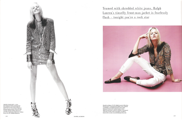 Sonic boom by Daniel Jackson for Vogue UK October 2012